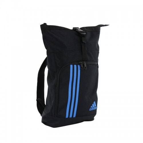 adidas Training Military Sporttas Zwart/Blauw