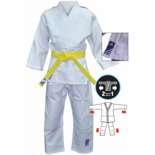 adidas Judopak Evolution II J250 Wit