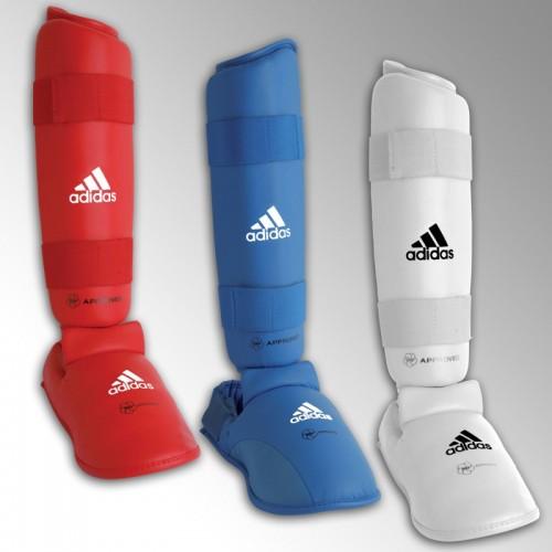 Protège tibia et pied officiel WKF adidas