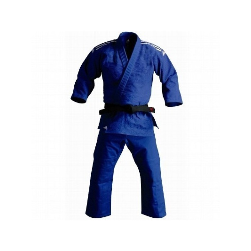 Kimono judo J500 bleu