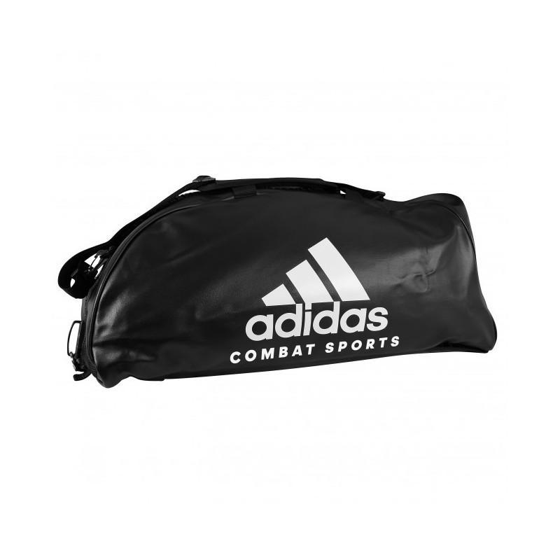 adidas Training Sporttas Combat 2 in 1 Zwart/Wit