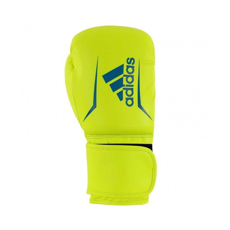 Gants de boxe adidas Speed 50 (Kick) Jaune / Bleu