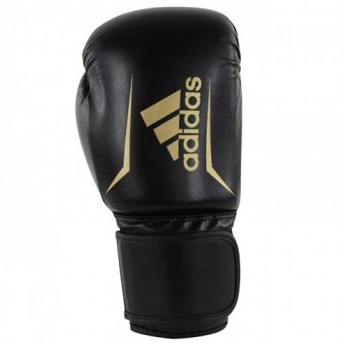 Gants de boxe adidas Speed 50 (Kick) Noir / Or