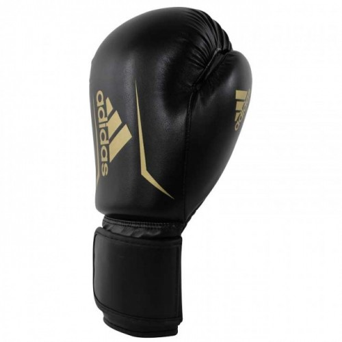Gants de boxe adidas Speed 50 (Kick) Noir / Or