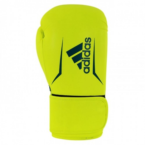 Gants de boxe adidas Speed 100 (Kick) Jaune / Bleu