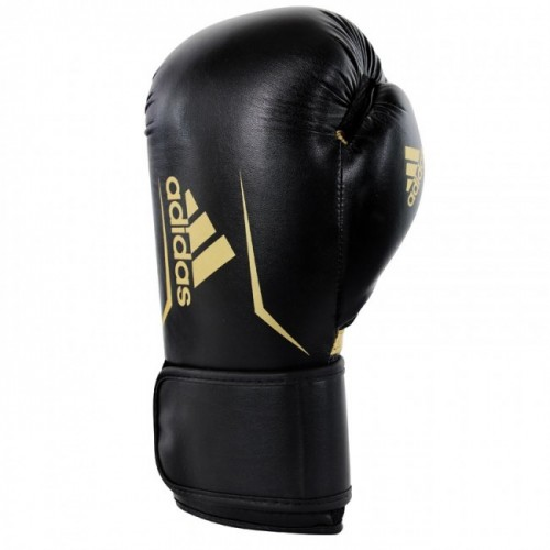 Gants de boxe adidas Speed 100 (Kick) Noir / Or