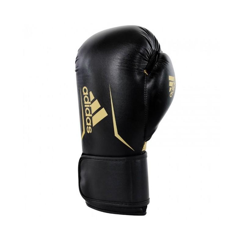 Gants de boxe adidas Speed 100 (Kick) Noir / Or
