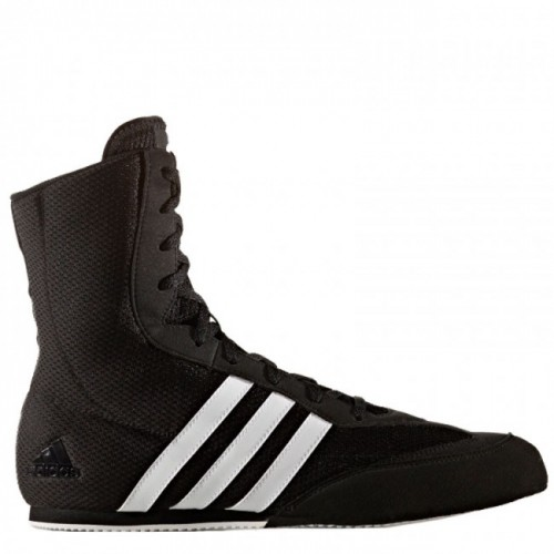 Chaussures de boxe adidas Box-Hog 2 noire / blanche