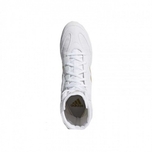 Chaussures de boxe adidas Box-Hog Plus - Blanc / Or