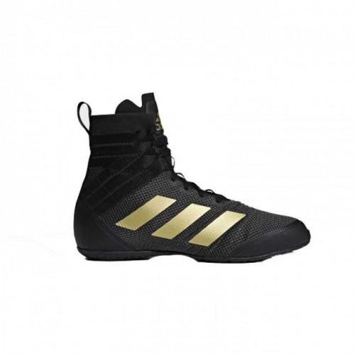 Chaussures de boxe adidas Speedex 18 Noir / Or  PAS DISPONIBLE AVANT MARS
