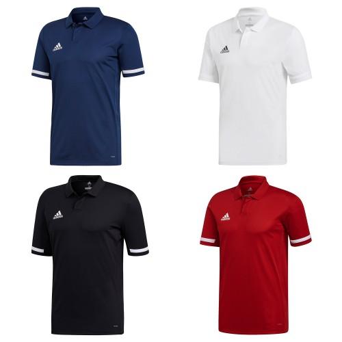 POLO ADIDAS MEN T19 Blauw / Rood / Zwart / Wit