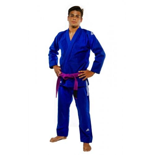 """""""costume adidas BJJ"""" IBJJF Champion """"bleu JJ601B"""""""