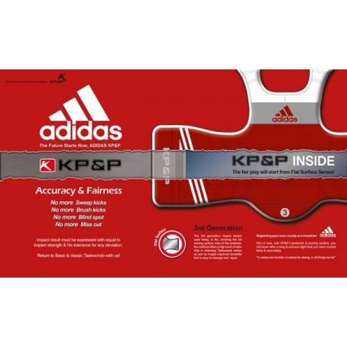 Adidas E-Body Protector Rouge