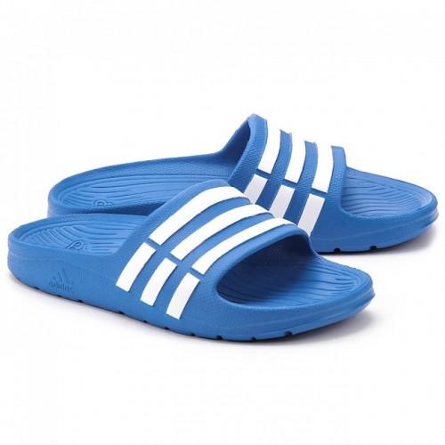 adidas Chaussons Duramo Slide Junior Bleu