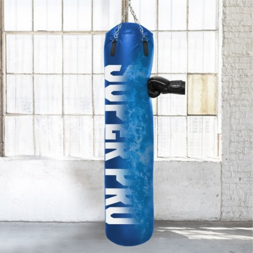 Sac de frappe Super Pro Water-Air Bleu 150cm
