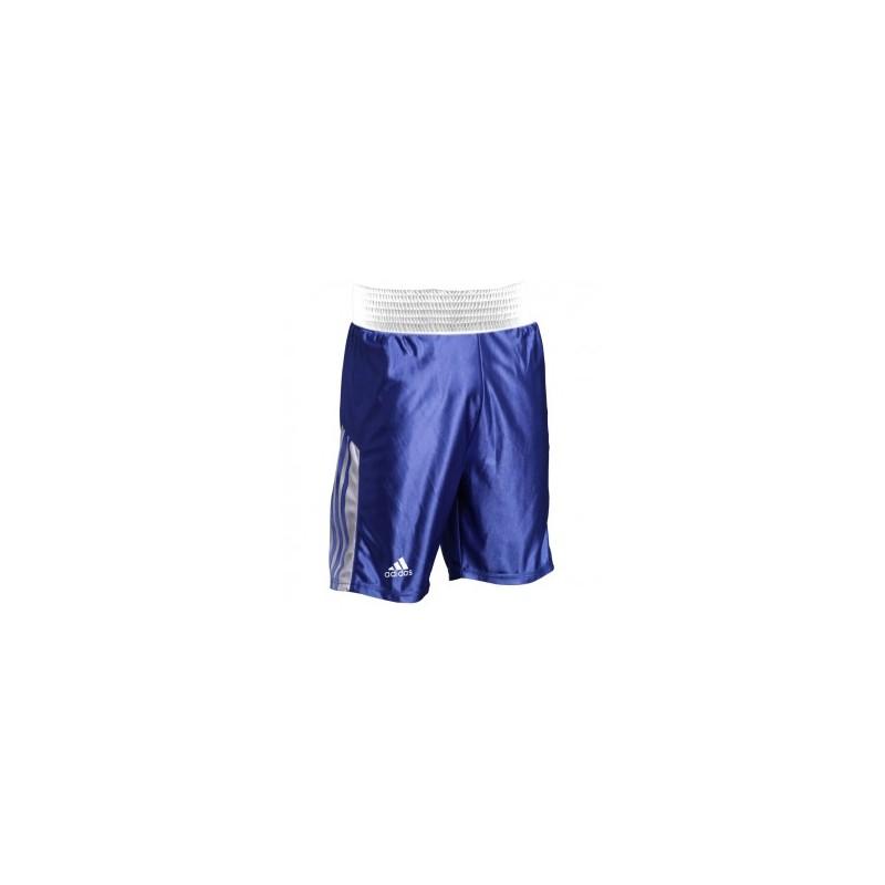 adidas Amateur Boxing Short bleu/blanc