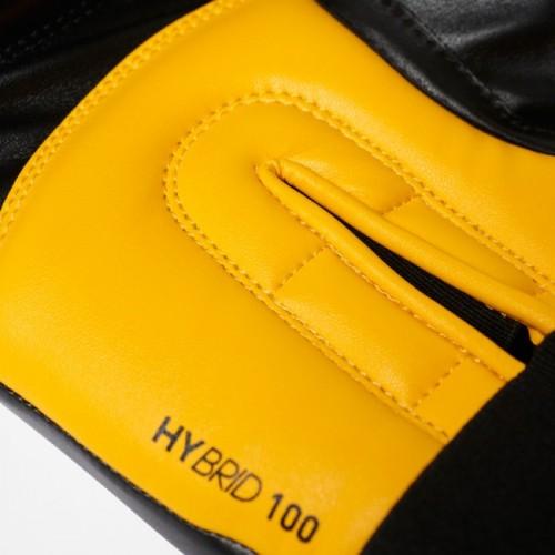 adidas Hybrid 100 (Kick) Gants de boxe noir / jaune