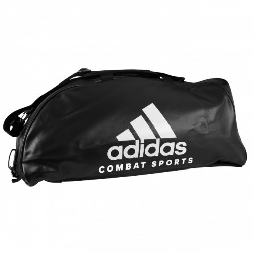 Sac de sport adidas Training Combat 2 in 1 Noir / Blanc