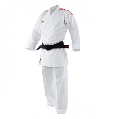 kimono karaté Adidas  Adilight Blanc / Rouge