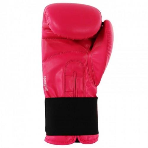 Gants de boxe adidas Speed 50 (Kick) Rose / Argent