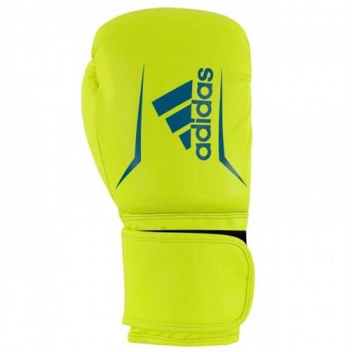 Gants de boxe adidas Speed 50 (Kick) Jaune / Bleu