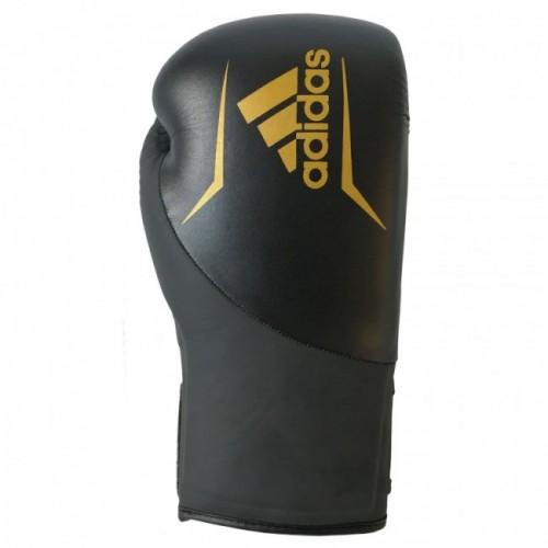 Gants de boxe adidas Speed 200 (Kick) Noir / Or