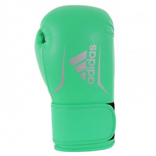 Gants de boxe adidas Speed 100 (Kick) Lime / Argent