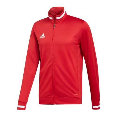 Veste de survêtemen rouge adidas T19 FEMMES