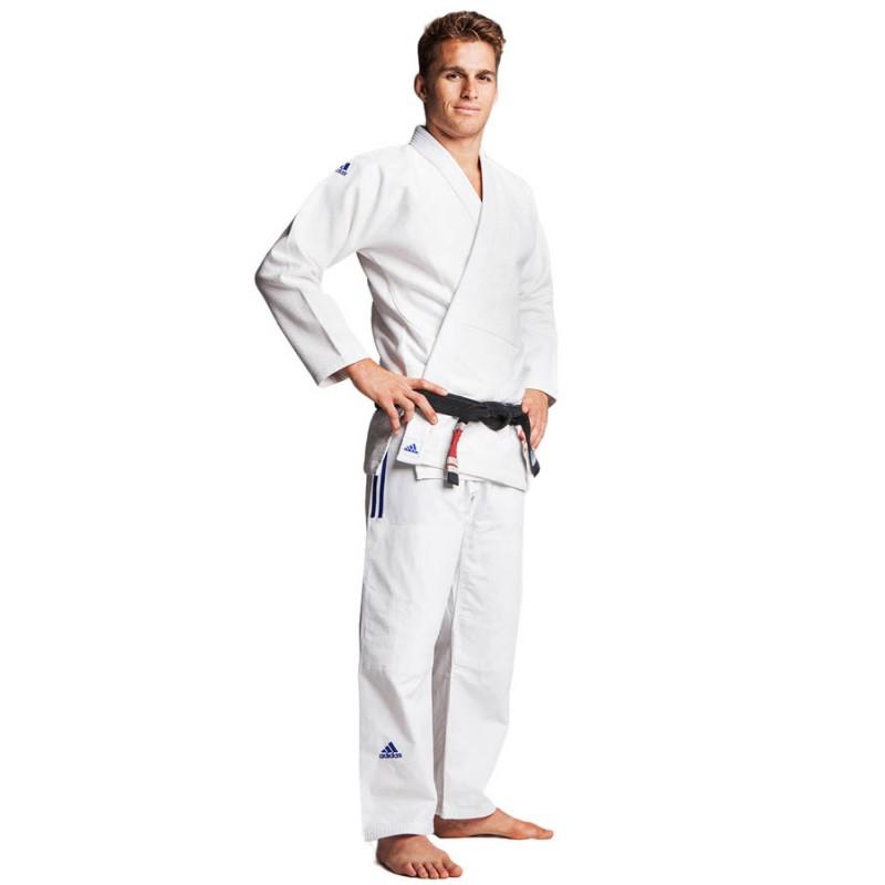 "Kimonoadidas BJJ ""IBJJF Champion"" blanc, JJ601"