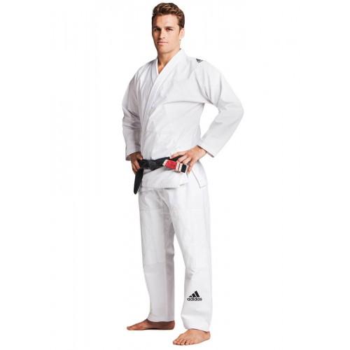 Adidas BJJ Suit Response blanc, BJJ280