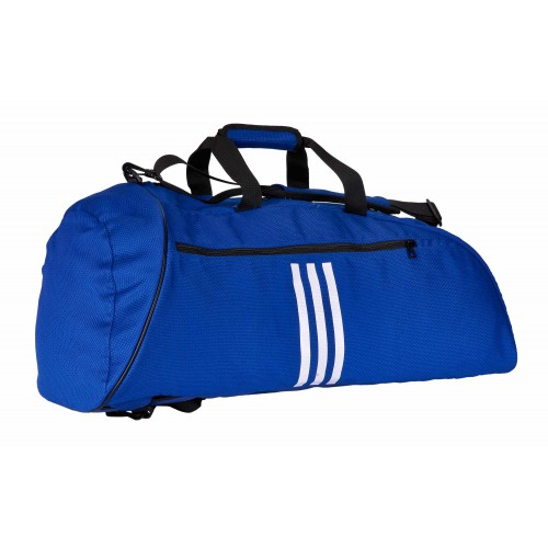 Sac adidas 2in1 Judo coton bleu / blanc L.