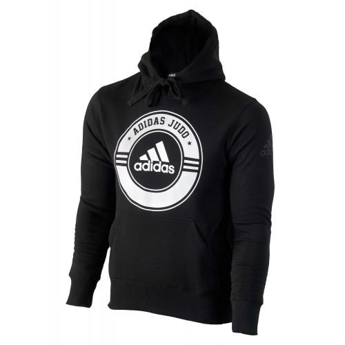 Adidas Community line Hoody Judo Circle noir / blanc